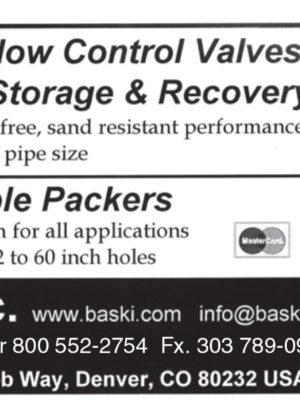 Baski Inc. - Downhole Flow Control Valves Storage & Recovery