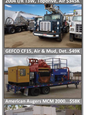 Beeman Equipment Sales - We Buy, Sell & Trade Used Drilling Equipment
