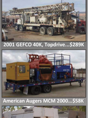We Buy, Sell & Trade Used Drilling Equipment