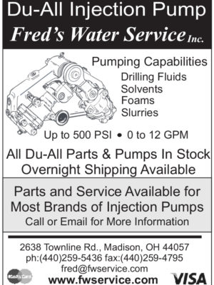Du-All Injection Pump - Fred's Water Service, Inc.