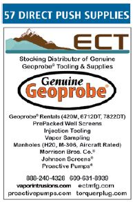 ECT Manufacturing Distributes Geoprobe Tooling and Supplies