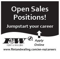 Open Sales Positions-Jump Start Your Career!