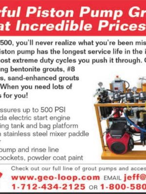 Powerful Piston Pump Grouters at Incredible Prices!
