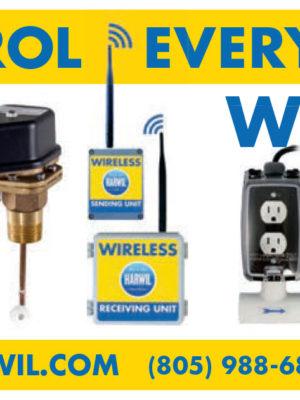 Harwil - Wireless Flow Level Pump