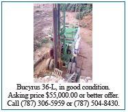 Bucyrus 36-L for Sale