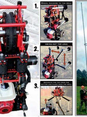 Pump Trax Well Pump Puller - RHR Products