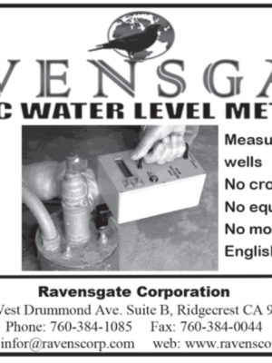 Ravensgate -Sonic Water Level Meters