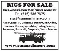 Rigs for Sale (Used Drilling/Service Rigs/Related Equipment