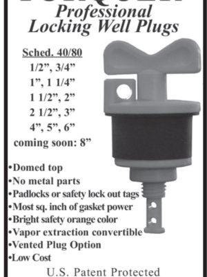 Torquer Professional Locking Well Plugs